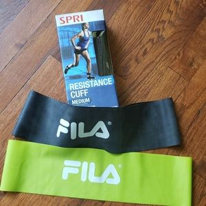 Exercise equipment, resistance cuff and bands